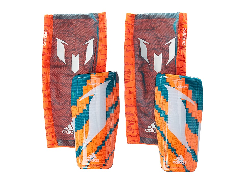adidas - Messi 10 (Solar Orange/Power Teal/White) Athletic Sports Equipment