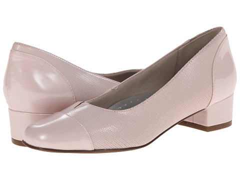 Trotters - Danelle (Pale Pink Mini Embossed Patent Leather) Women