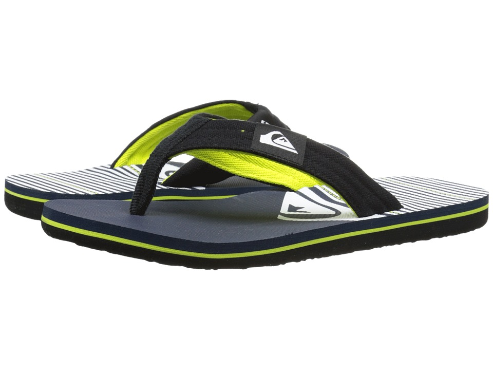 Quiksilver - Molokai Layback (Black/Blue/White) Men's Sandals
