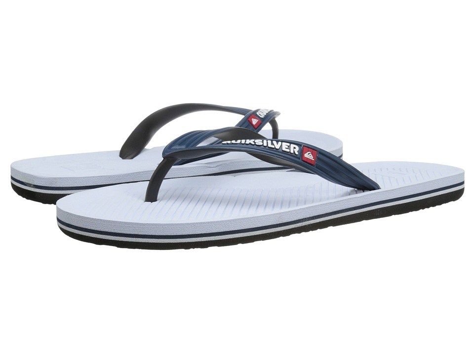 Quiksilver - Haleiwa (Blue/Black/White) Men's Sandals