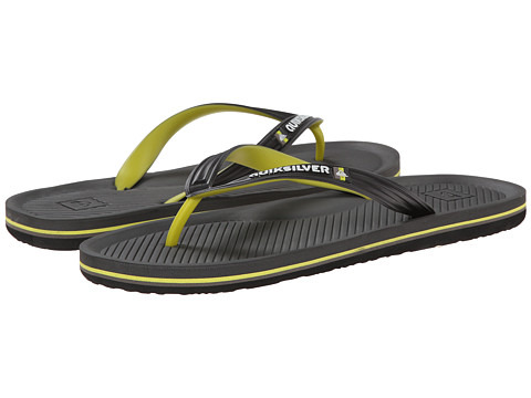 Quiksilver - Haleiwa (Black/Grey/Green) Men's Sandals