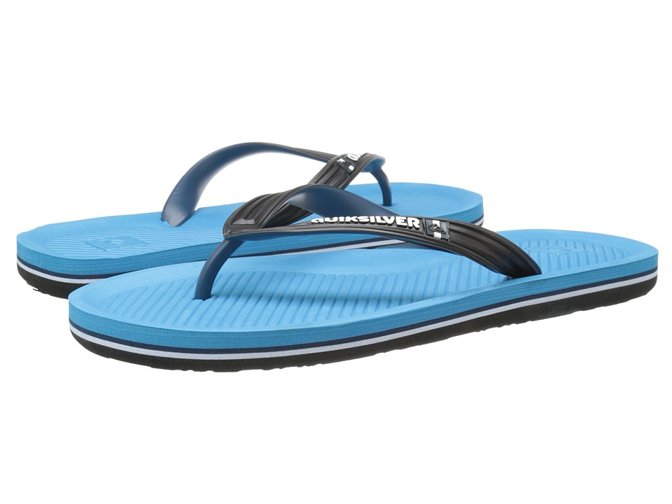 Quiksilver - Haleiwa (Black/Blue/Blue) Men's Sandals