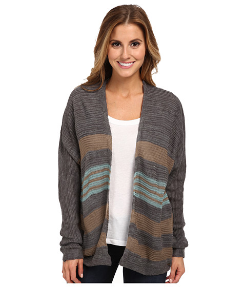 O'Neill - Bentley Cardigan (Charcoal Heather) Women's Sweater
