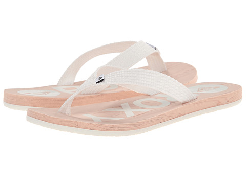Roxy - Elm (White) Women's Sandals