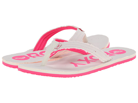 Roxy - Palm (Pink/White) Women's Sandals