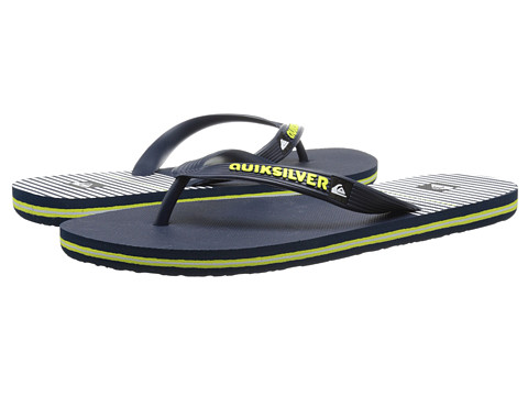 Quiksilver - Molokai East Side (Blue/Blue/White) Men's Sandals
