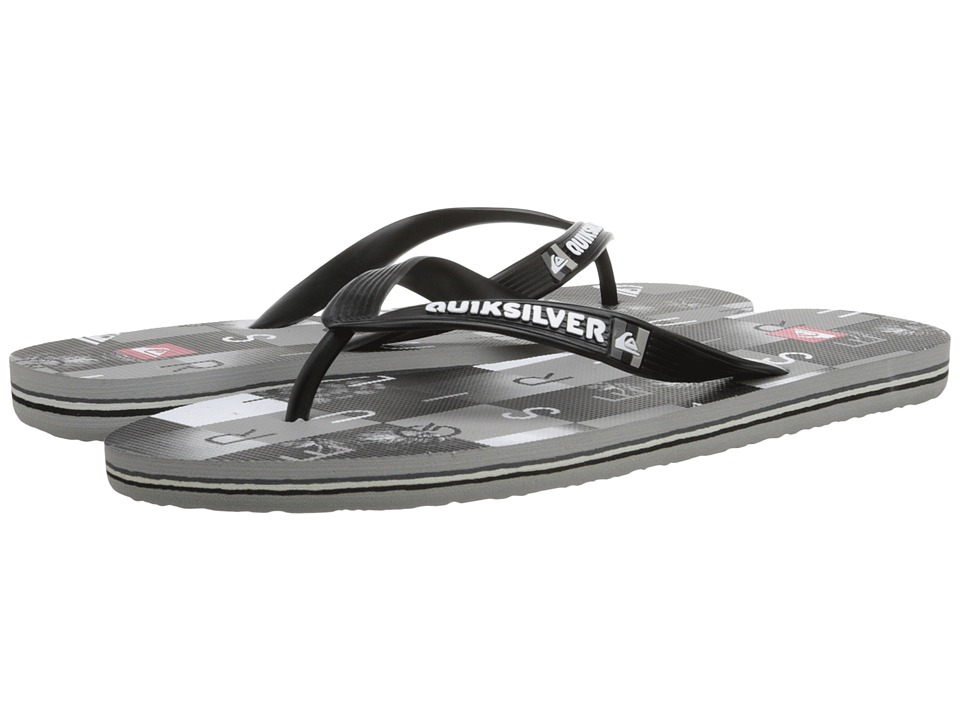 Quiksilver - Molokai Checkmate (Black/Grey/White) Men