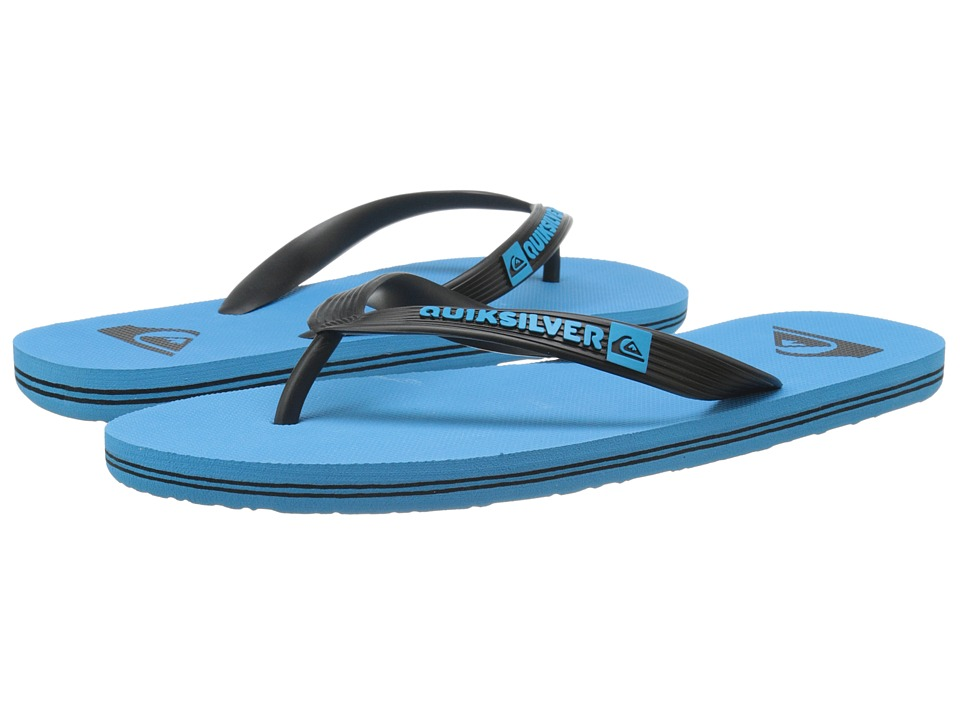 Quiksilver - Molokai (Black/Blue/Blue) Men's Sandals
