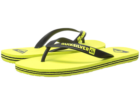 Quiksilver - Molokai (Black/Green/Green) Men's Sandals