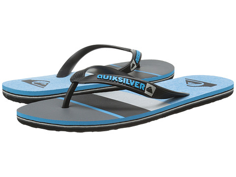 Quiksilver - Molokai Sunset (Black/Blue/Grey) Men's Sandals