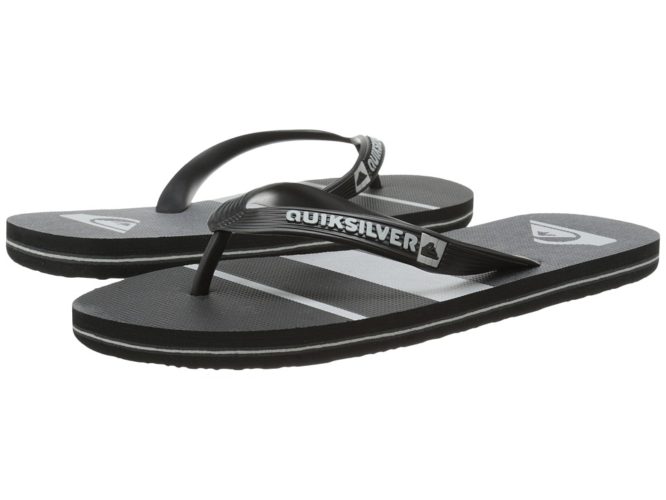 Quiksilver - Molokai Sunset (Black/Black/Grey) Men's Sandals