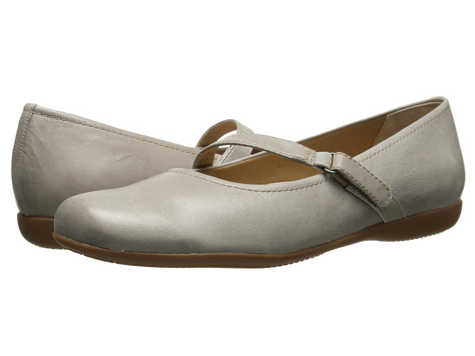 Trotters Simmy (Light Grey Soft Dull Leather) Women