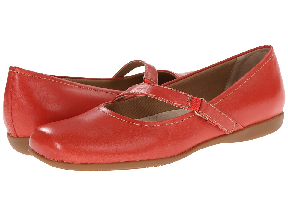 Trotters - Simmy (Red Soft Dull Leather) Women
