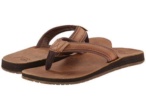 Quiksilver - Monkey FG (Brown/Brown/Brown) Men's Sandals