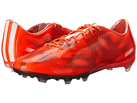 adidas - F30 FG (Solar Red/Core White/Black) Men's Soccer Shoes