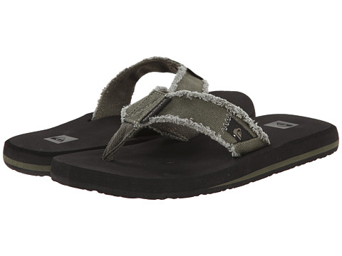 Quiksilver - Monkey Abyss (Green/Black/Brown) Men's Sandals