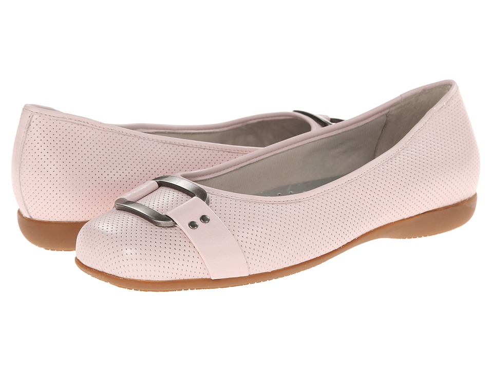 Trotters - Sizzle (Pale Pink Soft Perf Leather) Women