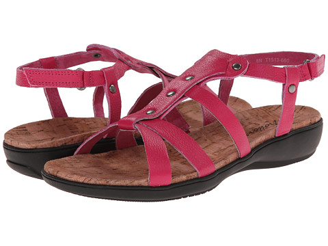 Trotters - Galen (Magenta Soft Tumbled Leather) Women