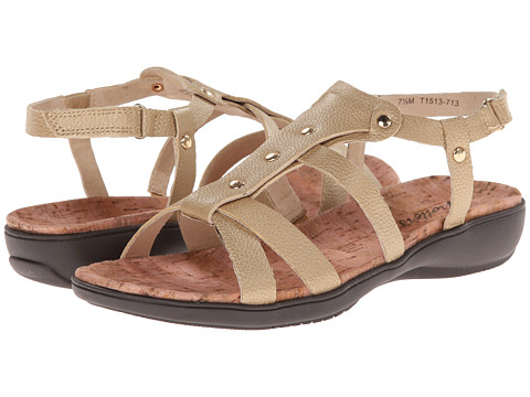 Trotters - Galen (Goldwash Metallic Soft Tumbled Leather) Women