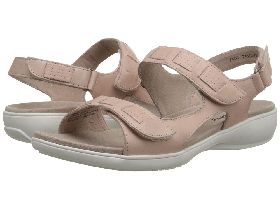 Trotters - Grace (Pale Pink Veg Calf Leather) Women's Sandals