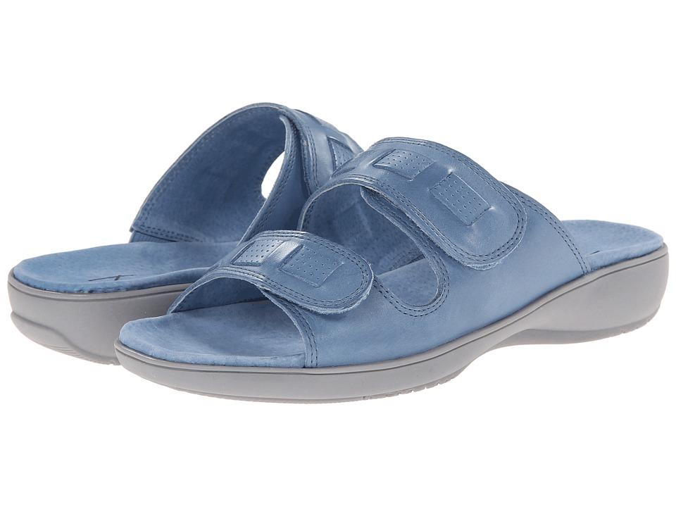 Trotters - Gabby (Blue Veg Calf Leather) Women