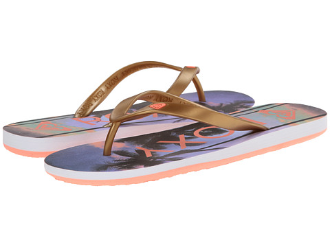 Roxy - Tahiti V (Rose Gold) Women's Shoes