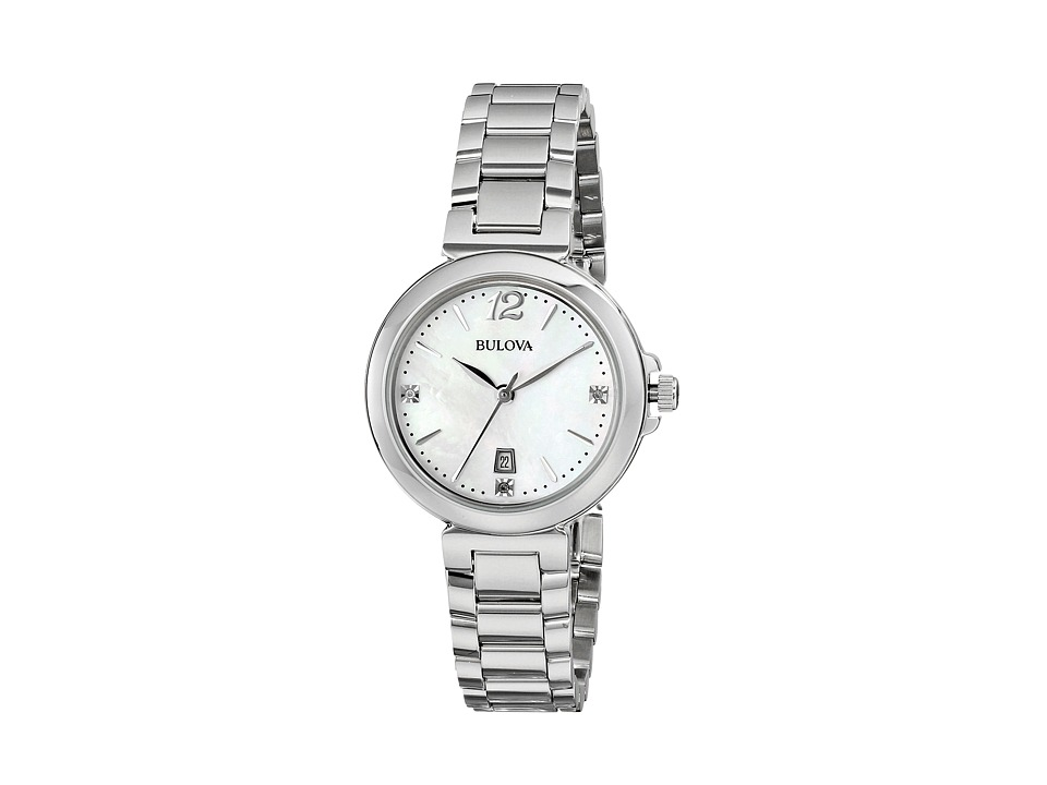 Bulova - Ladies Casual - 96P149 (White) Dress Watches