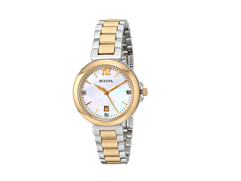 Bulova - Ladies Casual - 98P142 (Two-Tone) Dress Watches