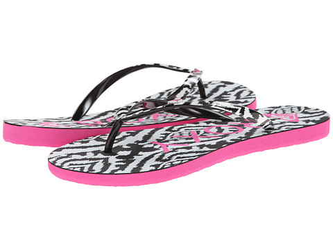 Roxy - Mimosa V (Black/White/Pink) Women's Shoes