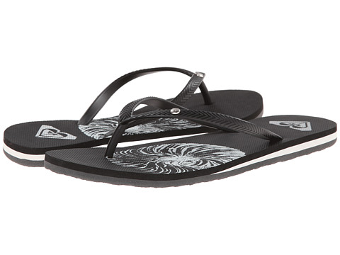 Roxy - Bermuda (Black 2) Women's Sandals