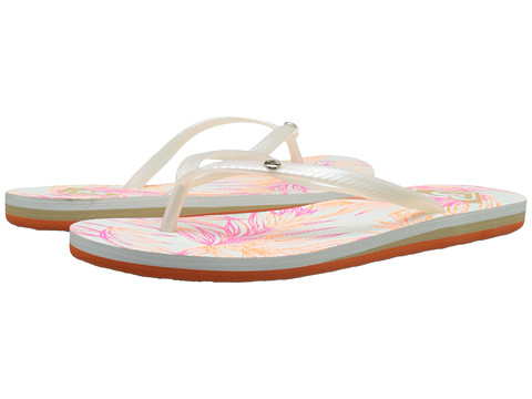 Roxy - Bermuda (Orange/White) Women's Sandals