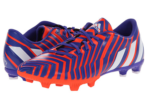 adidas - Predator Absolion Instinct FG (Solar Red/Core White/Night Flash) Men's Soccer Shoes