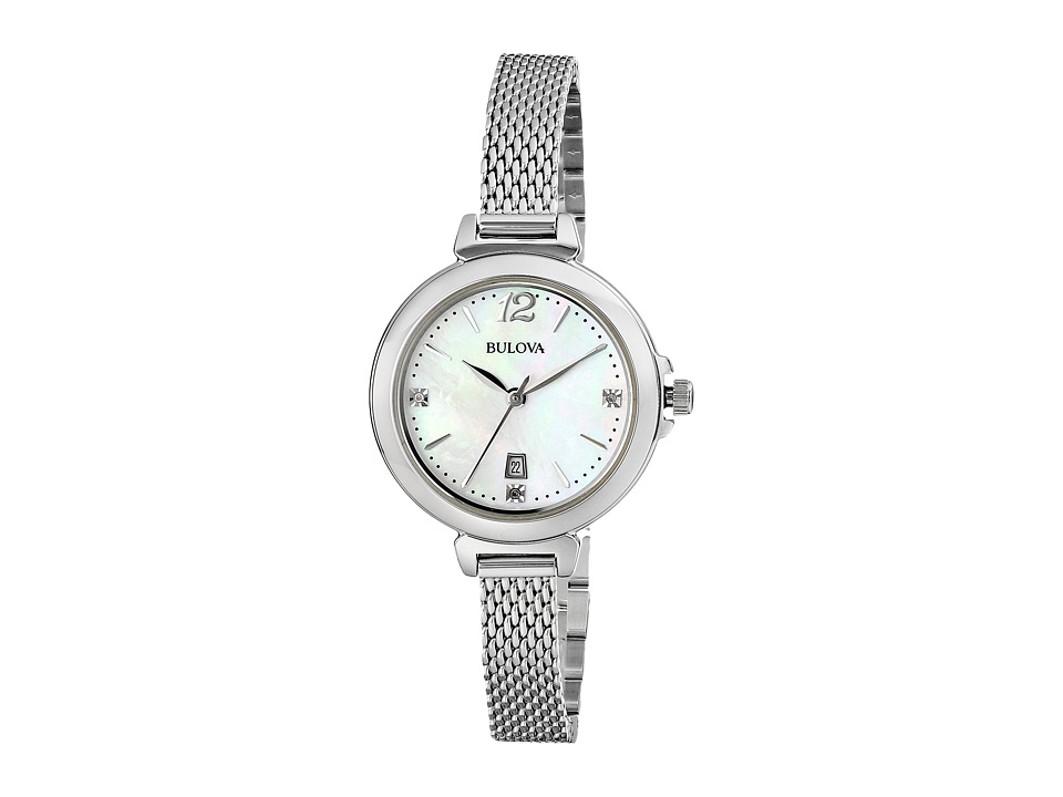 Bulova - Ladies Casual - 96P150 (White) Dress Watches