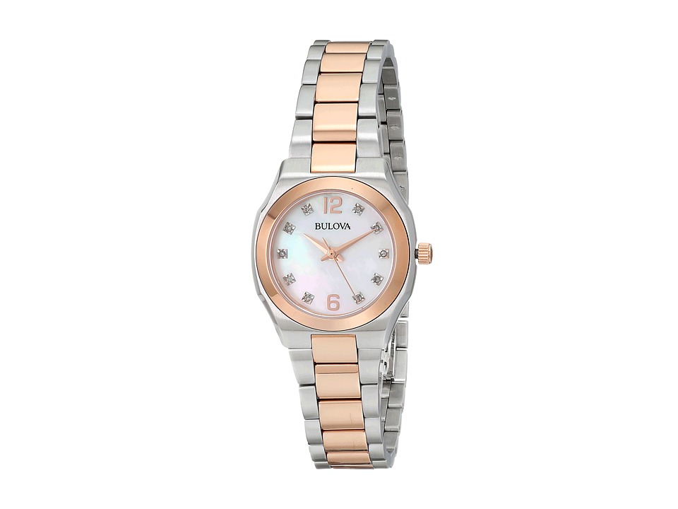 Bulova - Ladies Dress - 98P143 (Rose) Dress Watches