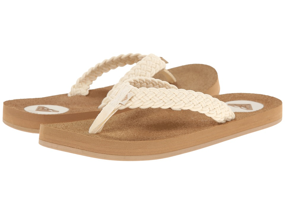 Roxy - Crescent (Cream) Women's Sandals