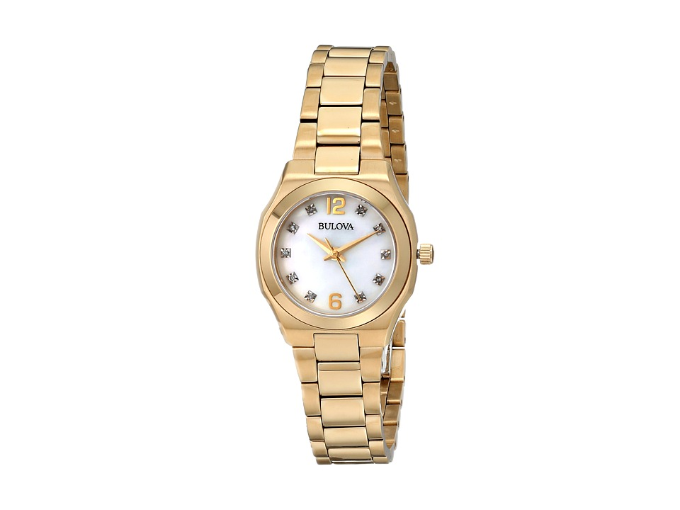 Bulova - Ladies Dress - 97P109 (Yellow) Dress Watches