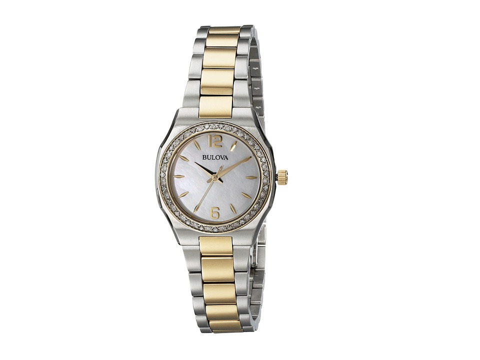 Bulova - Ladies Dress - 98R204 (Two-Tone) Dress Watches