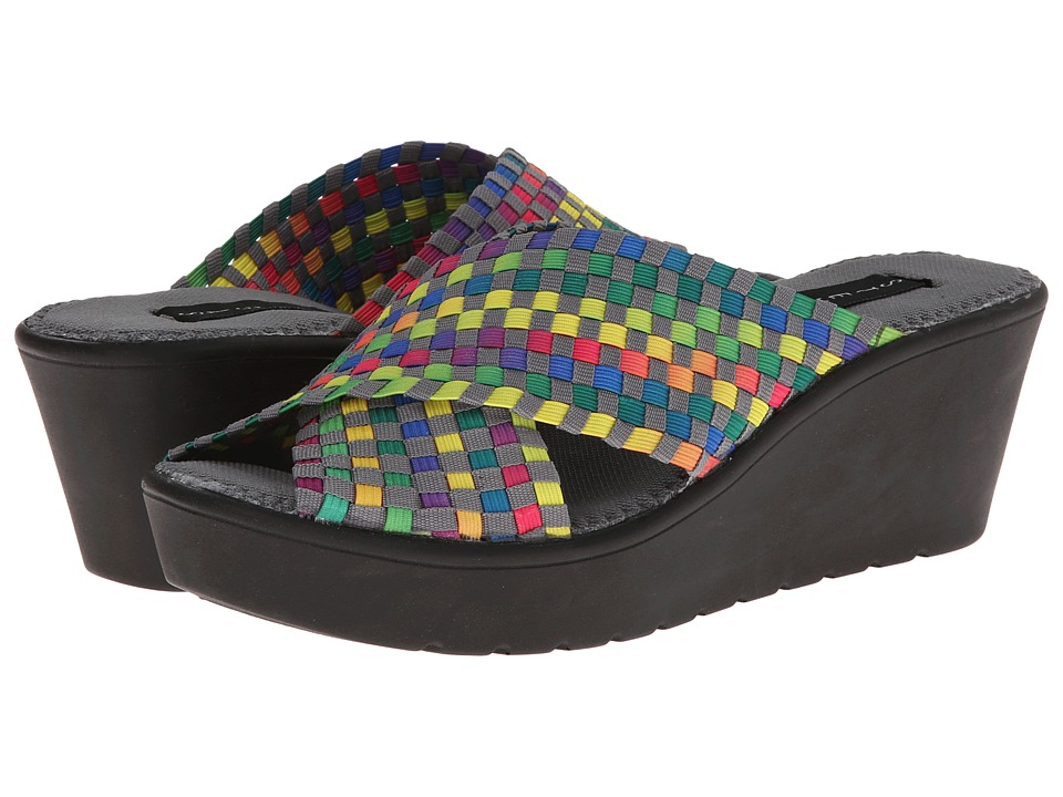 Steven - Baylee (Bright Multi) Women's Wedge Shoes