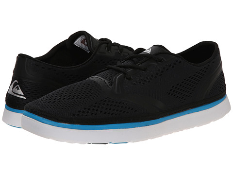 Quiksilver - AG47 Amphibian Shoe (Black/Blue/White) Men