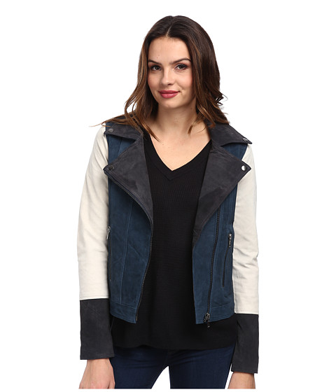 Chaser - Suede Jacket (Color Block) Women