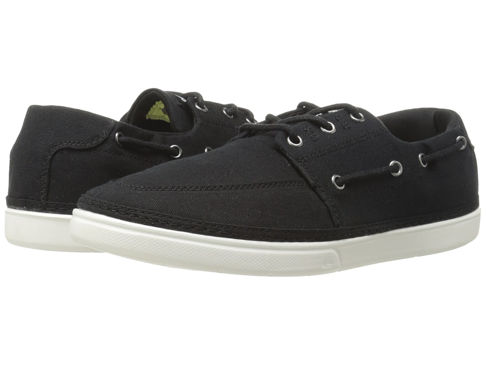 Quiksilver - Surfside (Black/Black/White Multi Snake) Men's Shoes