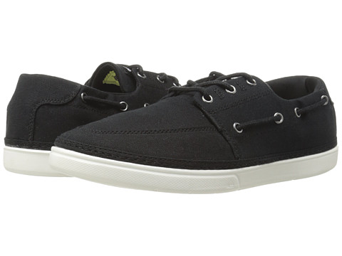 Quiksilver - Surfside (Black/Black/White Multi Snake) Men