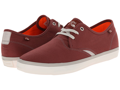 Quiksilver - Shorebreak (Brown/Brown/White) Men's Shoes