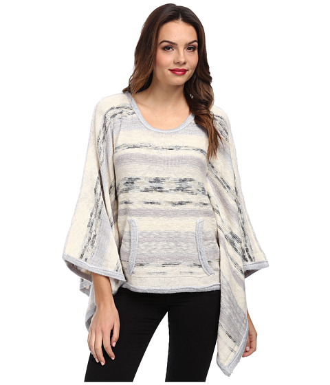 Chaser - Kanga Pocket Cardi (Stripe) Women's Sweater
