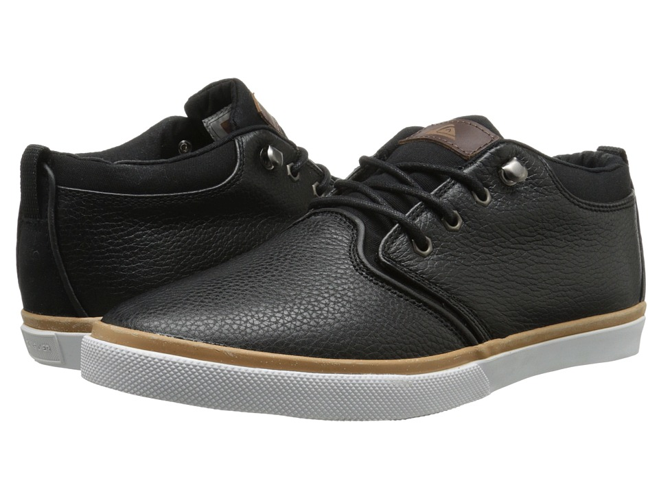Quiksilver - Griffin FG (Black/Brown/White) Men's Shoes