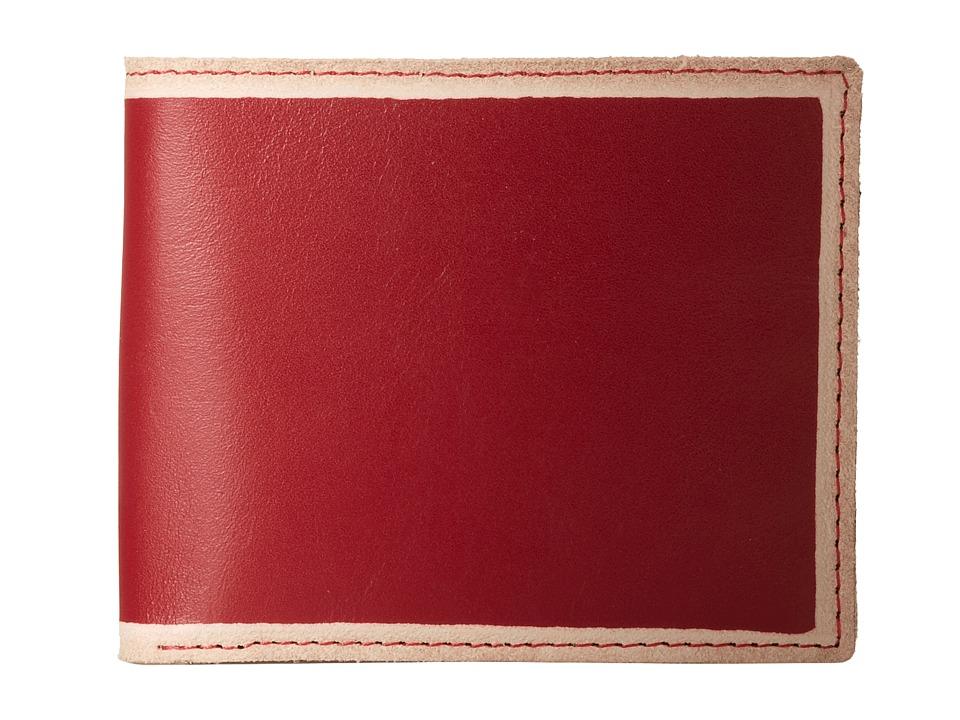 Bill Adler 1981 - Jelly Bean Billfold (Red) Bill-fold Wallet