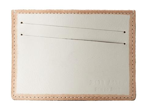 Bill Adler 1981 - Jelly Bean Card Case (White) Credit card Wallet