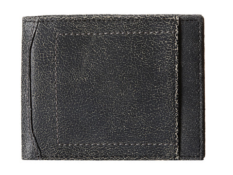Bill Adler 1981 - Canvas/Cracked Billfold (Black) Bill-fold Wallet