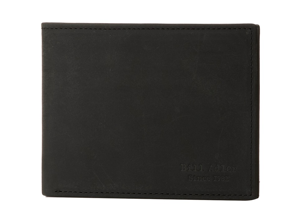 Bill Adler 1981 - Crazyhorse Billfold (Black) Bill-fold Wallet