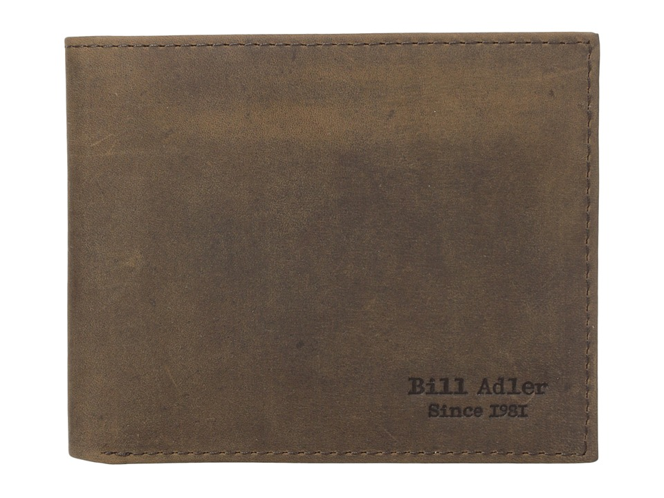 Bill Adler 1981 - Crazyhorse Billfold (Brown) Bill-fold Wallet